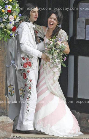 Bobby Gillespie of Primal Scream Married Katy England at St. Margaret's Church